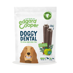 EDGARD & COOPER CANE DOGGY DENTAL MELA & ECUCALIPTO MEDIUM 7 STICKS