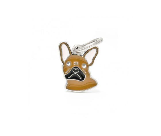 Medaglietta cane bulldog francese
