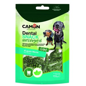 CAMON CANE DENTAL SNACK AFFUMICATO E MENTA TG. L