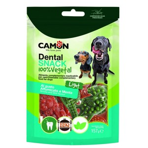 CAMON CANE DENTAL SNACK ANIMALVEG AFFUMICATO E MENTA TG. M