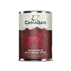 CANAGAN UMIDO CANE VENISON & WILD BOAR STEW VENISON & WILD BOAR STEW / STUFATO DI CERVO E CINGHIALE 400G