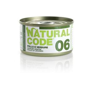 NATURAL CODE UMIDO NATURALE 06 POLLO E VERDURE 85 GR