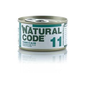 NATURAL CODE UMIDO NATURALE 11 TONNO E ALOE 85 GR