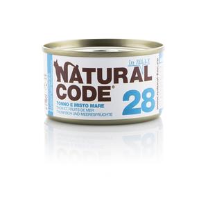 NATURAL CODE UMIDO NATURALE 28 TONNO E MISTO MARE 85 GR