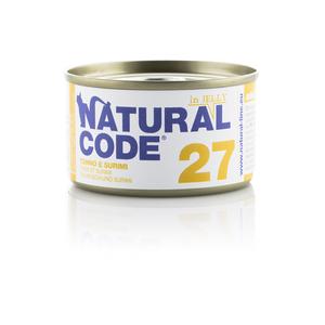 NATURAL CODE UMIDO NATURALE 27 TONNO E SURIMI 85 GR