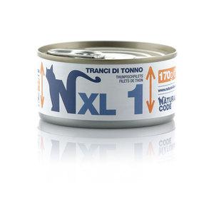 NATURAL CODE UMIDO NATURALE XL1 TRANCI DI TONNO 170 GR