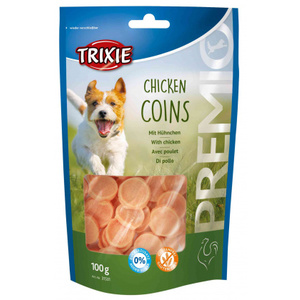 TRIXIE SNACK PREMIO CHICKEN COINS POLLO 100 GR