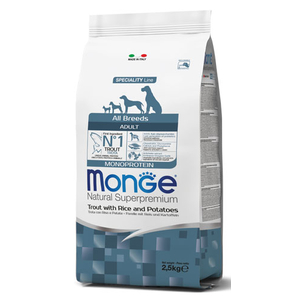 MONGE ALL BREEDS ADULT MONOPROTEIN TROTA 12 KG