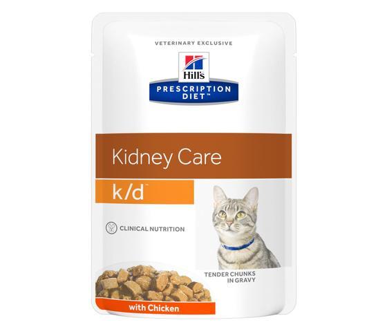 Pd feline prescription diet kd with chicken pouch productshot zoom