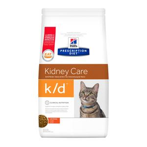 HILL'S PRESCRIPTION DIET K/D KIDNEY CARE POLLO GATTO 1,5 KG