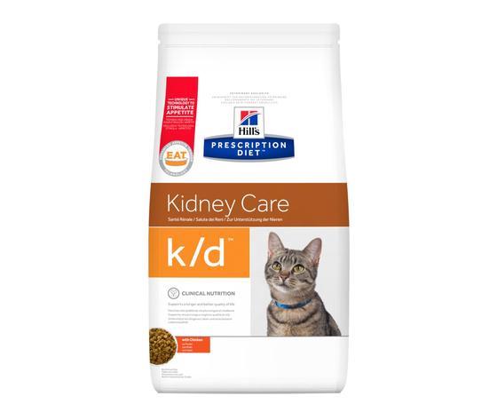 Pd feline prescription diet kd with chicken dry productshot zoom