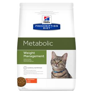HILL'S PRESCRIPTION DIET METABOLIC POLLO GATTO 1,5 KG