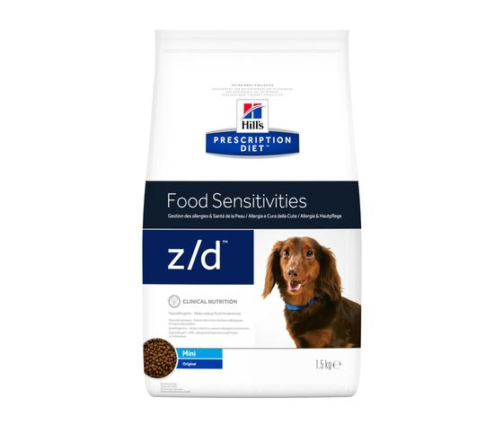 Pd canine prescription diet zd mini original dry productshot zoom