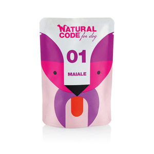 NATURAL CODE UMIDO CANE PUOCH P01 MAIALE 100 GR