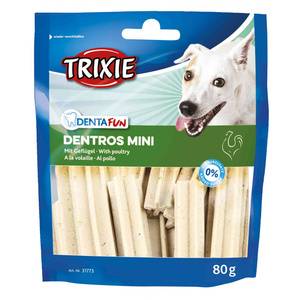 TRIXIE CANE DENTA FUN DENTROS MINI AL POLLO 80 GR