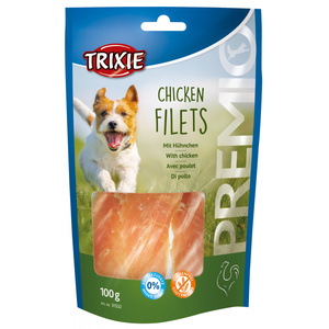 TRIXIE SNACK PREMIO CHICKEN FILETS FILETTI DI POLLO 100 GR