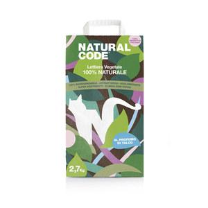 NATURAL CODE LETTIERA VEGETALE AGGLOMERANTE MAIS TALCO 2,7 KG