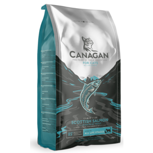 CANAGAN GATTO ALL LIFE STAGES GRAIN FREE SALMONE SCOZZESE 1,5 KG