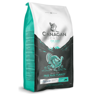 CANAGAN GATTO ALL LIFE STEGES GRAIN FREE TACCHINO DENTAL 375 GR