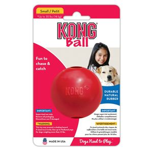 KONG BALL PALLA GOMMA ROSSA M/L