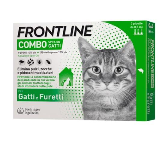 Frontline combo gatto 500x500