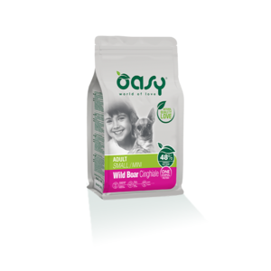 OASY SMALL/MINI ADULT ONE ANIMAL PROTEIN MONOPROTEICO CINGHIALE 2,5 KG