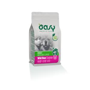 OASY MEDIUM/LARGE ADULT ONE ANIMAL PROTEIN MONOPROTEICO CINGHIALE 2,5 KG