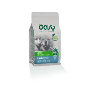OASY MEDIUM/LARGE ADULT ONE ANIMAL PROTEIN MONOPROTEICO AGNELLO 2,5 KG