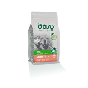 OASY MEDIUM/LARGE ADULT ONE ANIMAL PROTEIN MONOPROTEICO SALMONE 2,5 KG