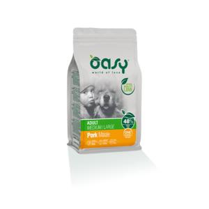 OASY MEDIUM/LARGE ADULT ONE ANIMAL PROTEIN MONOPROTEICO MAIALE 2,5 KG