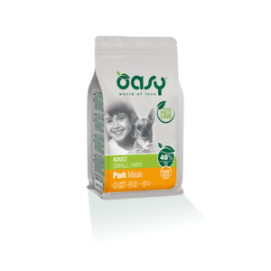 OASY SMALL/MINI ADULT ONE ANIMAL PROTEIN MONOPROTEICO MAIALE 2,5 KG