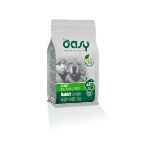 OASY MEDIUM/LARGE ADULT ONE ANIMAL PROTEIN MONOPROTEICO CONIGLIO 2,5 KG