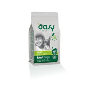OASY SMALL/MINI ADULT ONE ANIMAL PROTEIN MONOPROTEICO CONIGLIO 2,5 KG