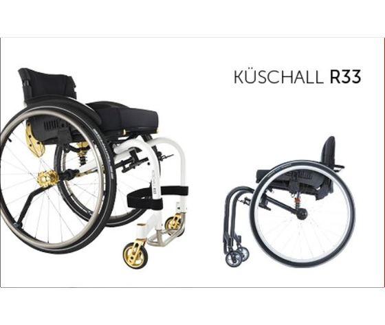 Carrozzella super leggera Rigida Küschall - Küschall R33