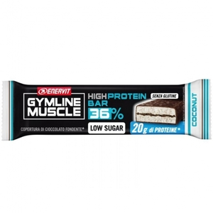 Enervit Gymline Muscle High Protein Bar 36% Low Sugar Gusto Cocco