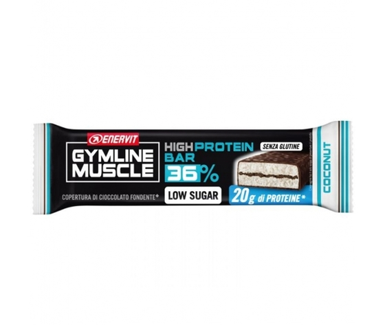 Enervit gymline high protein bar 36 55g cocco