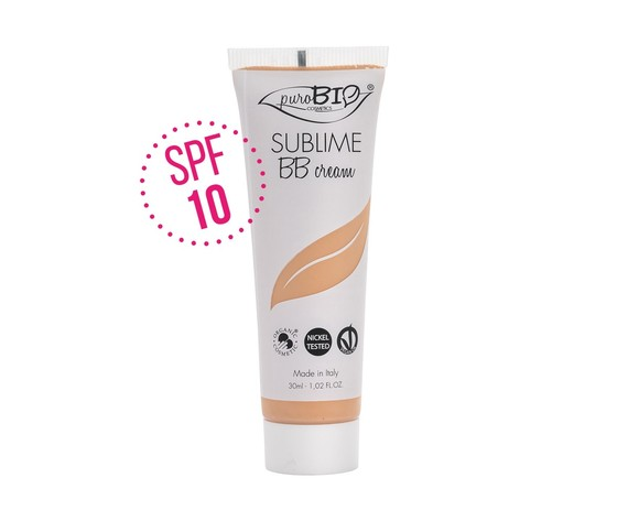 12 purobio cosmetics sublime bb cream spf10 n 2 z