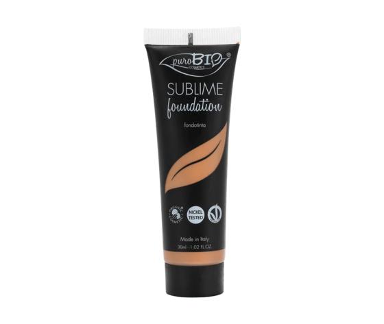 Sublime foundation 6 purobio cosmetics