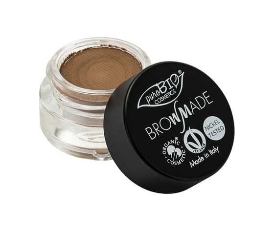 Purobio cosmetics browmade pasta per sopracciglia 01 cenere 1352088 it