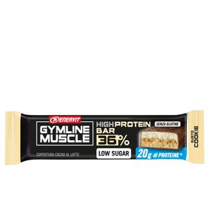 Enervit Gymline Muscle High Protein Bar 36% Low Sugar Gusto Cookie
