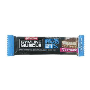Enervit Gymline Muscle Protein Bar Doppio Strato 27% Low Sugar Gusto Cocco-Ciok