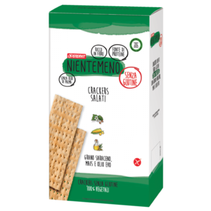 Ener zona NienteMeno Crackers Salati Senza Glutine