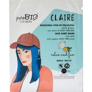 PuroBIO Claire Machera Viso in Cellulosa Relax and Fun n 18