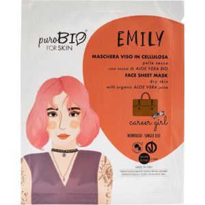 PuroBIO Emily Maschera Viso in Cellulosa Career Girl n 14