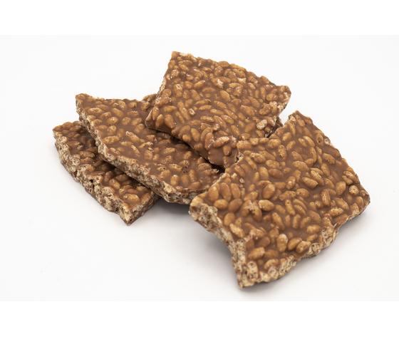 Cioccolato a pezzi al latte e riso soffiato %282%29