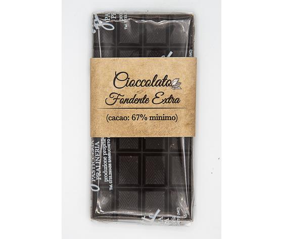 Barretta al cioccolato fondente