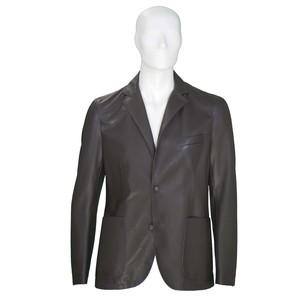 Giacca uomo pelle 100%Lamb Leather colore T moro - Modello Carlton/P