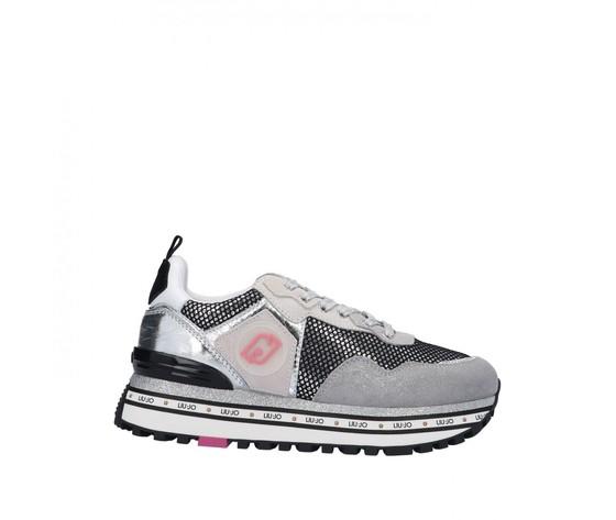 Liu jo sneaker strappo grigio gomma ba1057tx085