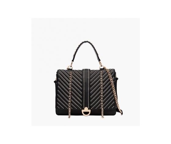 La carrie bag 111m tl 556 sy borsa large shopper micro borchie