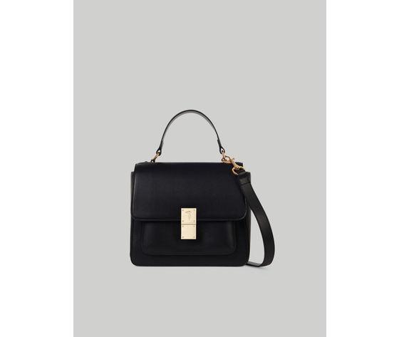 Medium faux leather lione handbag trussardi jeans 10 01 8051932586843 f